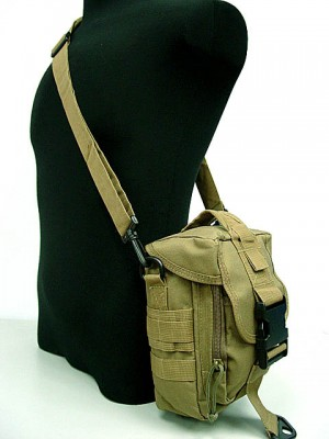 Molle Shoulder Bag Tools Mag Drop Pouch Coyote Brown