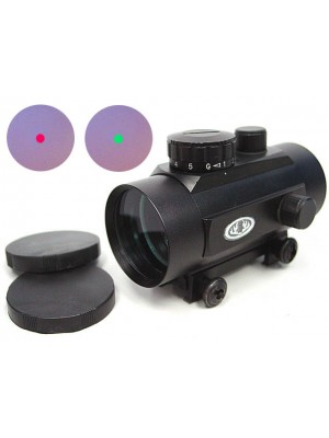 45mm Airsoft Red/Green Dot Sight Reticle Scope QD Mount