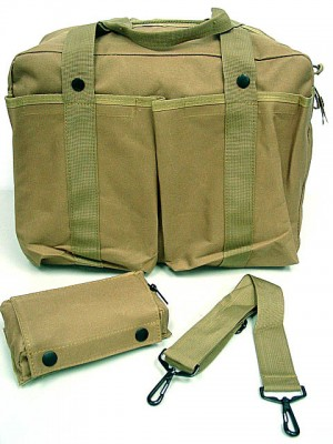 Tactical Shoulder 2 Ways Bowling Bag Coyote Brown