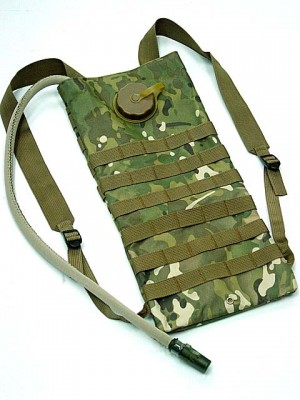 Molle 3L Hydration Water Backpack Multi Camo
