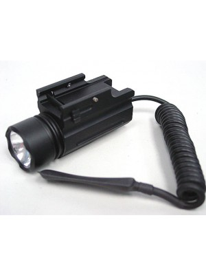 3V Xenon Airsoft Tactical Pistol Flashlight w/Pressure Switch