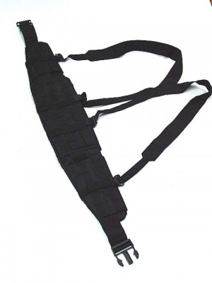 Molle II Panel Platform Waist Belt Suspender Black
