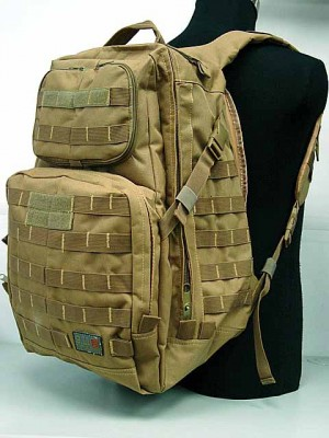 Patrol 3-Day Molle Assault Backpack Coyote Brown