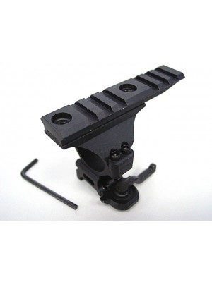 30mm Top Rail RIS 20mm Scope Sight QD Lever Ring Mount