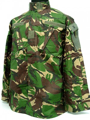 British DPM Camo Woodland BDU Uniform Shirt Pants