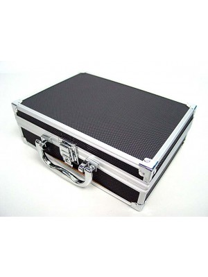 Airsoft Pistol Aluminum Carry Storage Hard Case Box 8.5""