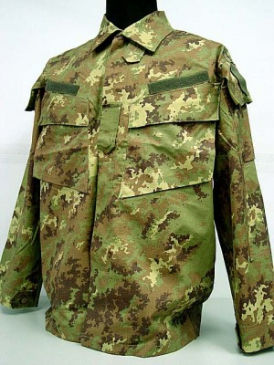 Italian Army Digital Camo Woodland BDU Uniform Set