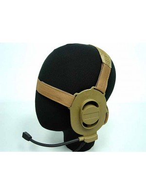 Element ELITE II Headset Tan for Motorola PTT Talkabout Radio Z027 & Z113