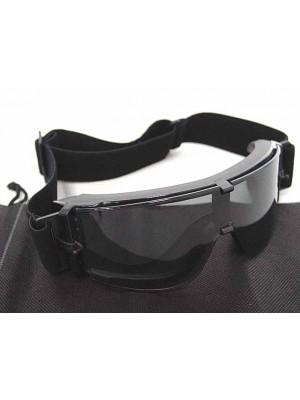 USMC Airsoft X800 Tactical Goggle Glasses GX1000 Black
