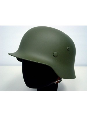 WWII WW2 German MOD M35 Luftwaffe Steel Helmet OD