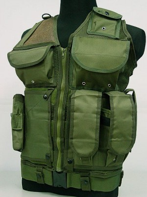 USMC Hunting Combat Tactical Vest Type A OD