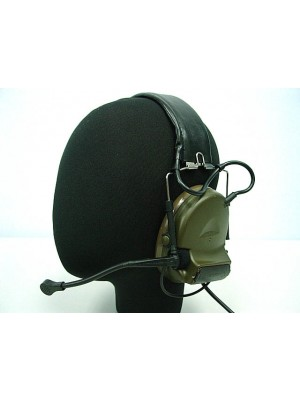 Element Comtac II Style Headset OD for ICOM PTT 2 Pin Radio Z041 & Z113