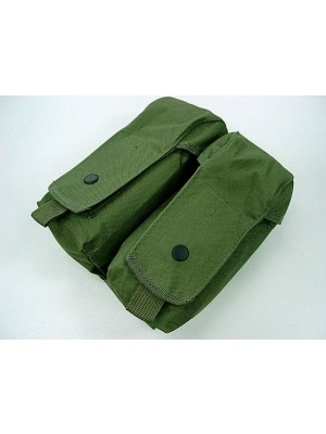 Airsoft Molle Double AK Magazine Pouch OD