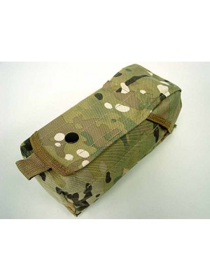 Airsoft Molle Single AK Magazine Pouch Multi Camo