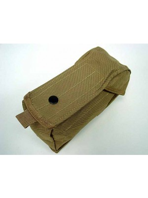 Airsoft Molle Single AK Magazine Pouch Coyote Brown