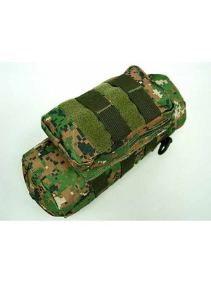 Molle Water Bottle Medic Pouch Digital Camo Woodland