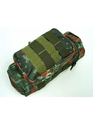 Molle Water Bottle Medic Pouch German Camo Woodland