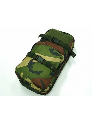 Molle MBSS 3L Hydration Water Back Pack Pouch Camo Woodland