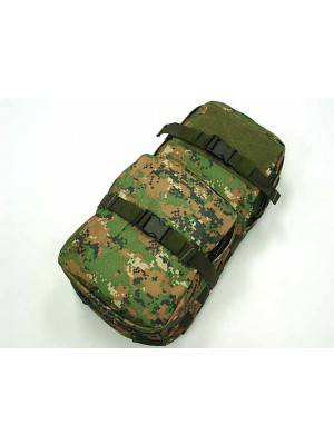 Molle MBSS 3L Hydration Water Back Pack Pouch Digital Woodland