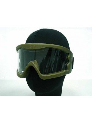 Airsoft X-Eye Wind Dust Tactical Goggle Glasses OD