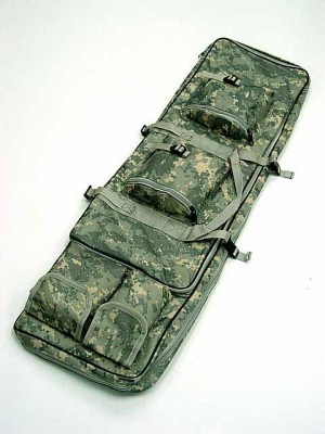 "40"" Dual Rifle Carrying Case Gun Bag Digital ACU Camo"