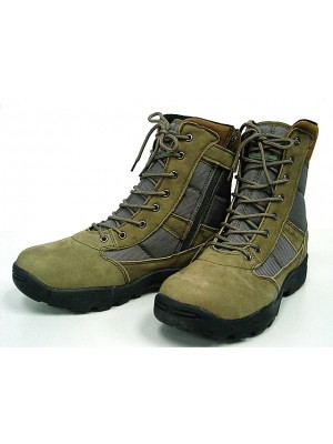 "Magnum Style 8"" Side Zip Tactical Boots OD"