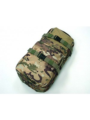 Molle MBSS 3L Hydration Water Back Pack Pouch Multi Camo
