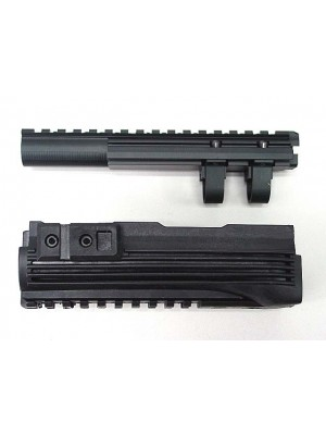 Airsoft AK Upper RIS Handguard System with Top Rail