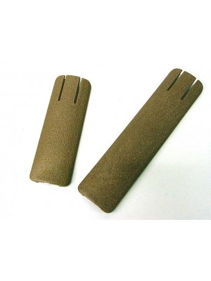 TD Battle Grip Type Non-Slip Rail Cover Panel 2pcs Set Tan