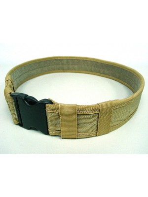 "Combat BDU Airsoft 2"" Duty Belt Coyote Brown"
