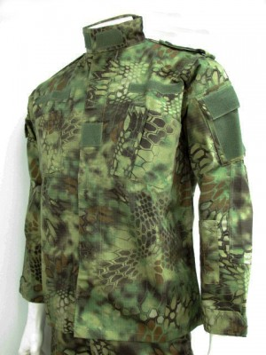 Kryptek Mandrake Camo BDU Field Uniform Set Shirt Pants