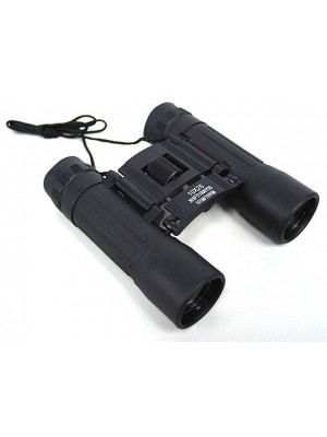 10x25 25mm Hunting Camping Compact Binoculars w/ Case