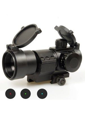 Comp M3 Type Red Green Blue Dot Sight Scope w/Cantilever L-Shape Mount