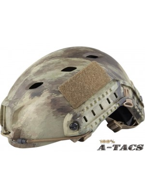 Airsoft FAST Base Jump Style Helmet A-TACS Camo