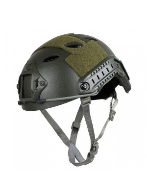 Airsoft FAST Carbon Style Helmet OD