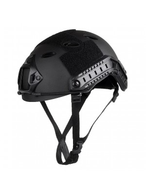 Airsoft FAST Carbon Style Helmet Black