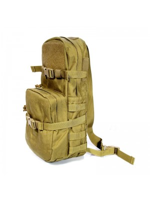 Flyye 1000D Molle MBSS Hydration Backpack KhaKi Color