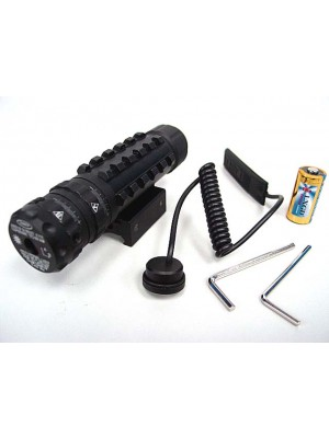 LXGD High Power Tri-Rail Green Laser Sight Pointer JG-027