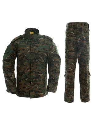 USMC Army Navy Digital Camo Woodland BDU Uniform Set