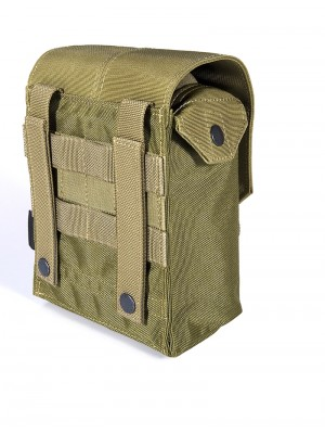 Flyye 1000D Molle M249 200rds Ammo Magazine Pouch KH