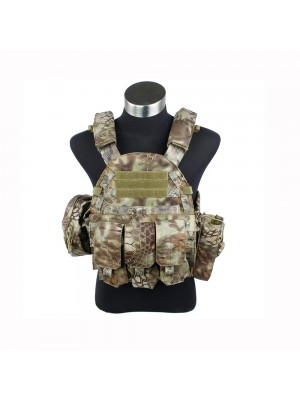 G TMC 6094 style Plate Carrier w 3 pouches ( MAD )
