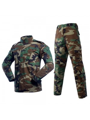 US Army Camo Woodland BDU Uniform Set Shirt Pants