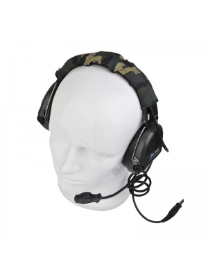Element Sordin Style Tactical Headset Woodland Camo - Z111